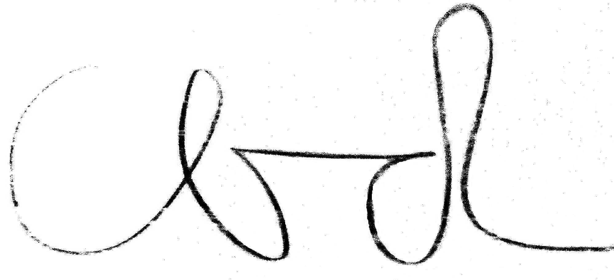Dragomirs's signature